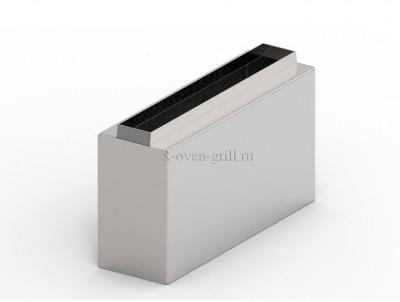 Удлинитель для клапана системы дымоудаления. 20 см.